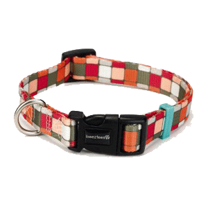 Beeztees New Nylon Collar Cuadros