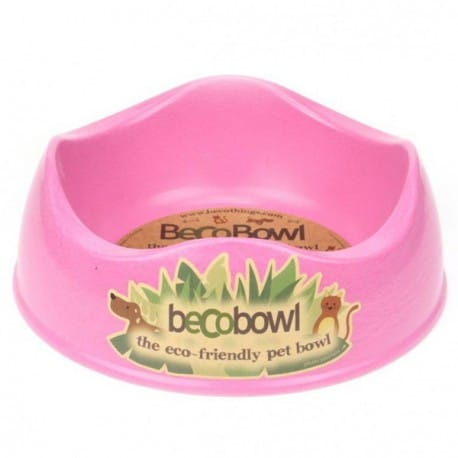 comedero beco bowl large rosa
